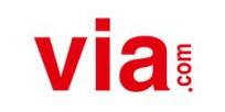 via.com logo